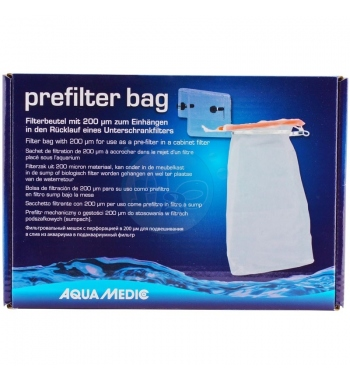 AQUAMEDIC PREFILTER BAG KIT