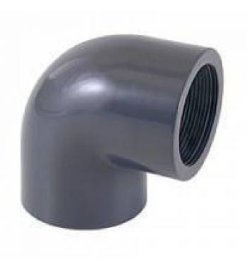 """GOMITO 90° PVC INC/FIL. D. 20 X 1/2"""""""
