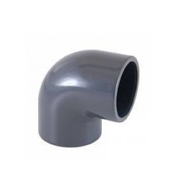 GOMITO 90° INCOLLAGGIO PVC D. 16