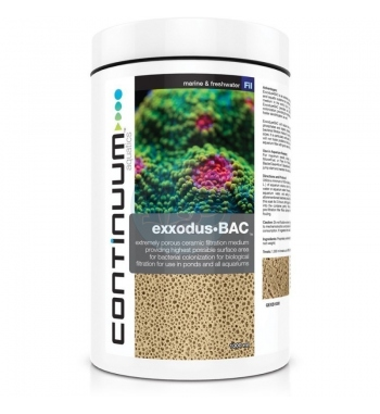 CONTINUUM EXXODUS BAC FILTRATION MEDIUM 250 ML