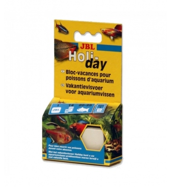 JBL Mangime cibo in tavoletta per vacanze holy-day