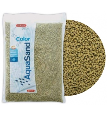 ZOLUX Sabbia Ghiaia sacco 5kg Verda Tundra