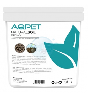 AQPET NATURAL SOIL FONDO BROWN 9 LT