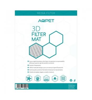 AQPET Filter Line 3d Matt Alta porosità PERLON