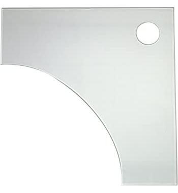 NEWA coperchio angolare in vetro per MORE MNO50