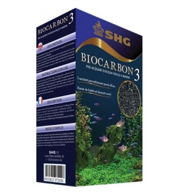 SHG BIOCARBON 3 carbone premium 240gr