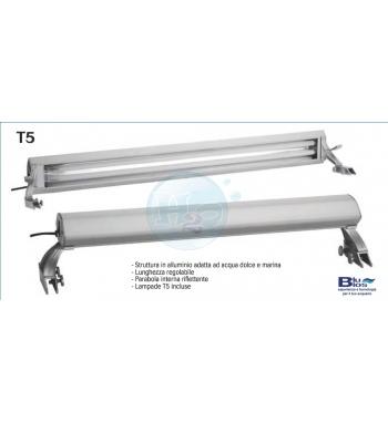 Blu Bios Plafoniera Neon T5 2X24W 80cm 10000k