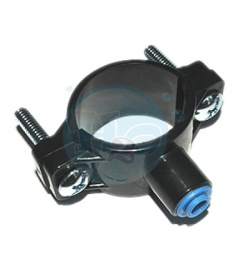 """Forwater PRESA A STAFFA PER SCARICO TUBO 1/4"""""""